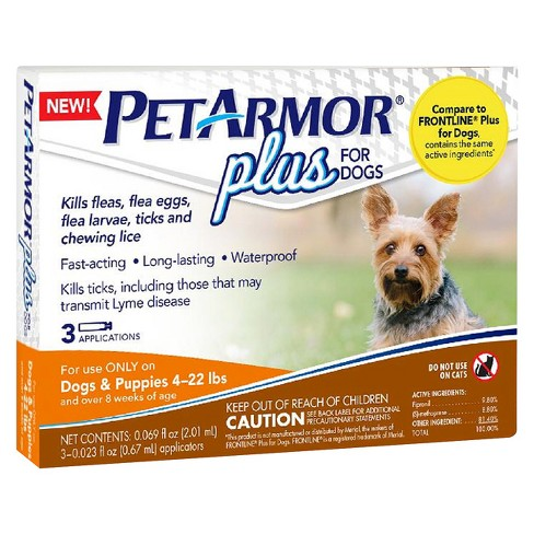Petarmor Plus Flea And Tick Topical Treatment For Dogs Target