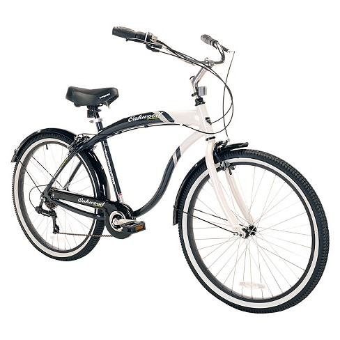 "Kent Men's Oakwood 26"" Cruiser - Black and White - image 1 of 1"