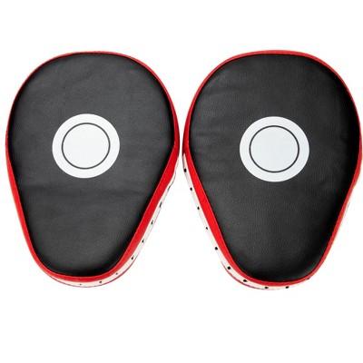 Mind Reader Boxing Mitt, Set of 2 Mitts, Red/Black