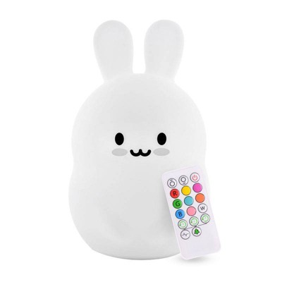 Lumipets LED Kids Night Light Lamp with Remote - Bunny
