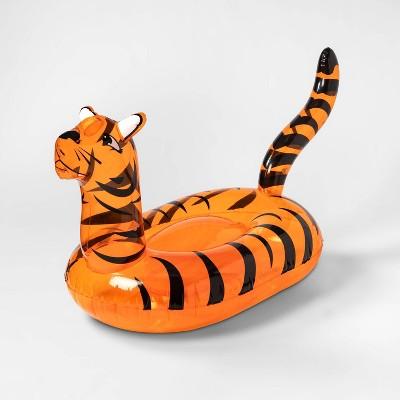 Tiger Pool Float Bright Yellow - Sun Squad™