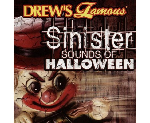 Drew's Famous - Sinister Sounds Of Halloween (CD) - image 1 of 1