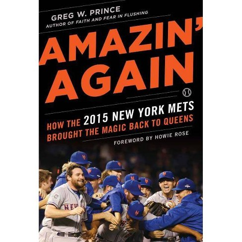 Amazin' Again - by  Greg W Prince (Hardcover) - image 1 of 1