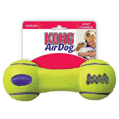 KONG Air Dog Squeaker Dumbbell Dog Toy - M