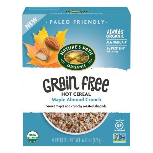 Nature's Path Grain Free Maple Almond Oatmeal - 6.21oz - image 1 of 4