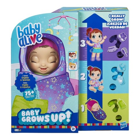 Baby Alive Baby Grows Up Dreamy - image 1 of 4