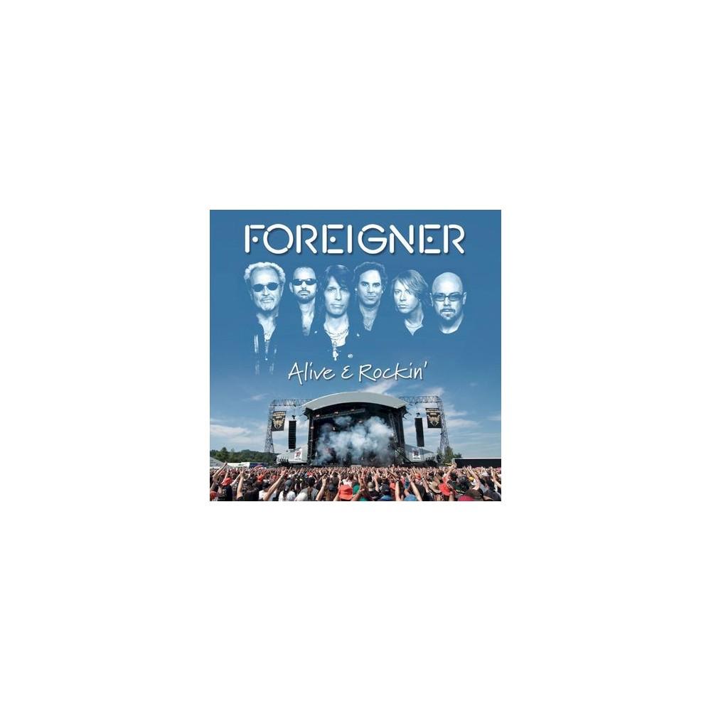 Foreigner - Alive & Rockin (CD)