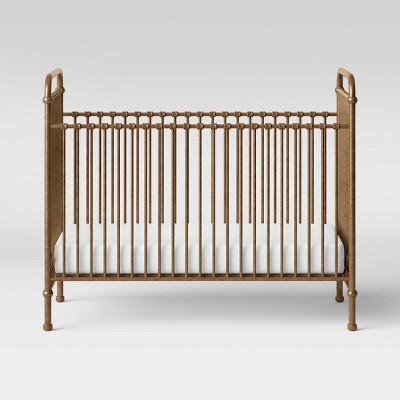 Million Dollar Baby Classic Abigail 3-In-1 Convertible Crib - Vintage Gold