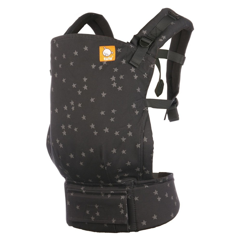 Baby Tula Free to Grow Carrier - Discover, Black As you welcome your baby to the world, the Free-to-Grow carrier seamlessly adjusts and lets you hold them close from the very beginning. Baby Tula's Free-to-Grow baby carrier has a panel that adjusts to provide an ergonomic seat for baby as they grow from early infancy to toddlerhood. The carrier also features adjustable padded straps for optimal neck and shoulder comfort and soft leg padding to keep baby comfortable. Baby Tula is proud to meet and exceed safety standards and norms, and is a business member of the Baby Carrier Industry Alliance. Color: Black.