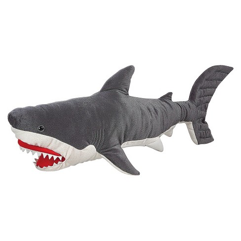 Melissa Doug Giant Shark Lifelike Stuffed Animal Over 3 Feet