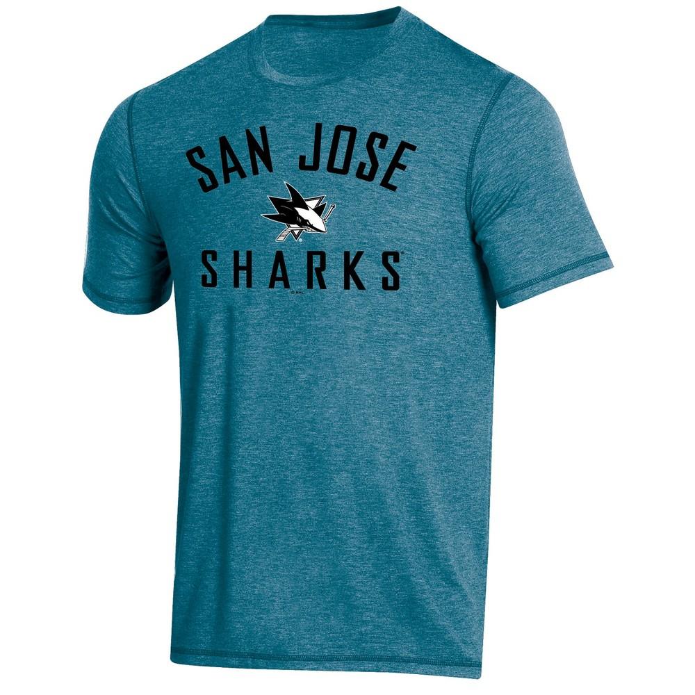 San Jose Sharks Men's Athleisure T-Shirt - M, Multicolored