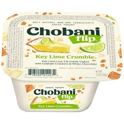 Chobani Flip Key Lime Crumble Low Fat Greek Yogurt - 5.3oz