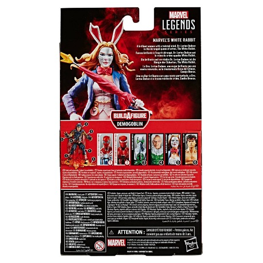 "Marvel Legends Series White Rabbit Action Figure 6"" image number null"