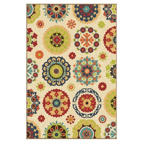 "Orian Rugs Salsalito Promise Indoor/Outdoor Area Rug - Beige (3'10"" x 5'5"") - image 1 of 5"