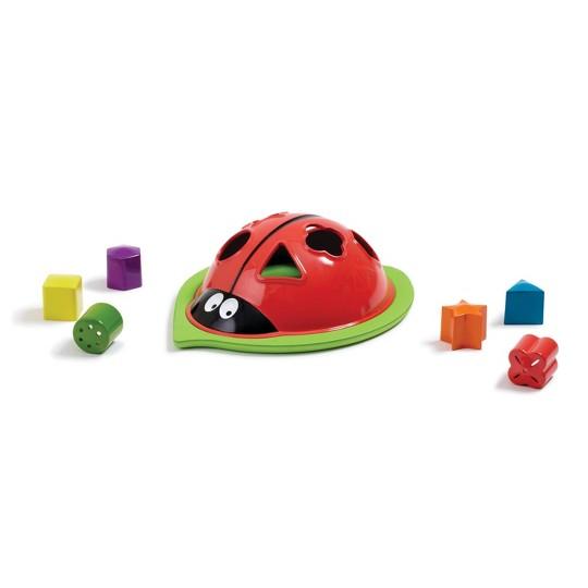 EduShape Lady Bug Sorter, stacking and sorting toys image number null