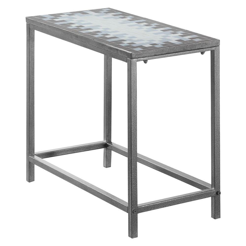 End Table - Gray/Blue - EveryRoom