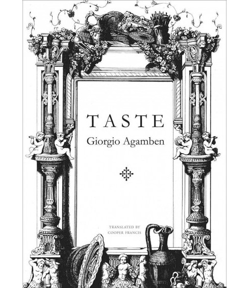 Taste -  (The Italian List) by Giorgio Agamben (Hardcover) - image 1 of 1