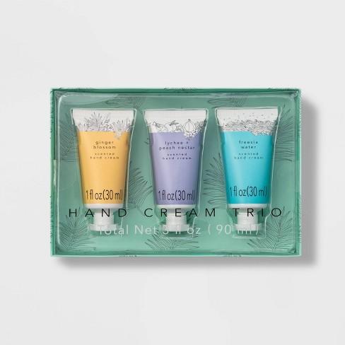 Hand Cream Trio Set - 3 fl oz - Target Beauty™ - image 1 of 2
