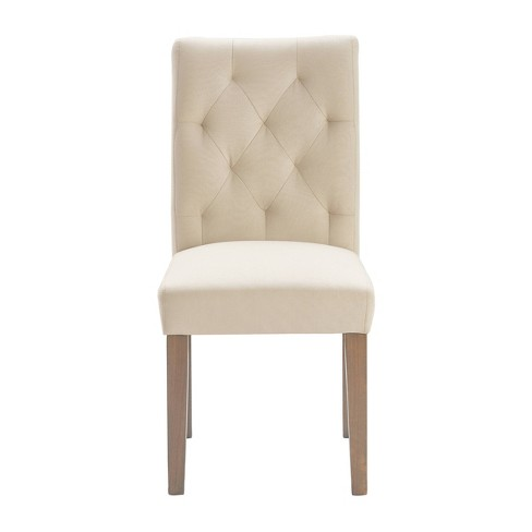 Westport Tufted Dining Chairs Set of 2 - Finch - image 1 of 4
