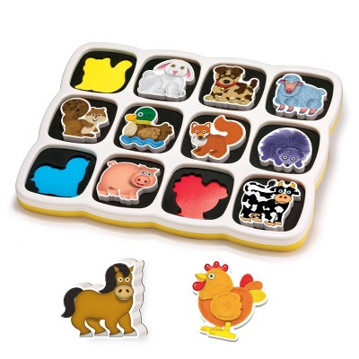 Quercetti Smart Puzzle Magnetic Puzzle - Farm