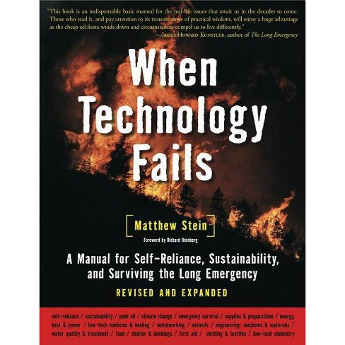 When Technology Fails - 2 Edition by  Matthew Stein (Paperback) - image 1 of 1