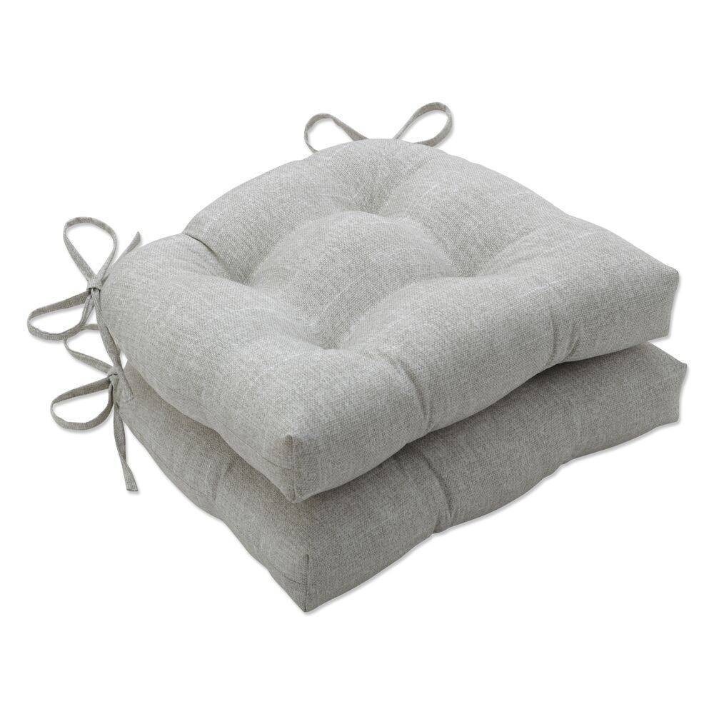Discounts 2pk Outdoor/Indoor Large Chair Pad Set Tory  - Pillow Perfect