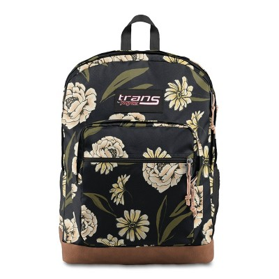 """Trans by JanSport 17"""" Super Cool Backpack - Popping Peonies"""