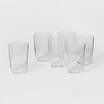 16oz 6pk Glass Rioja Cooler Tumblers - Made By Design™