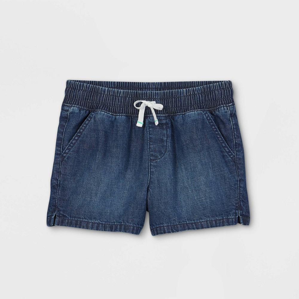 Girls 39 Pull On Jean Shorts Cat 38 Jack 8482 Dark Wash S