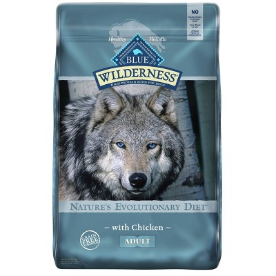 Blue Buffalo Wilderness 100% Grain Free Chicken Adult Dry Dog Food
