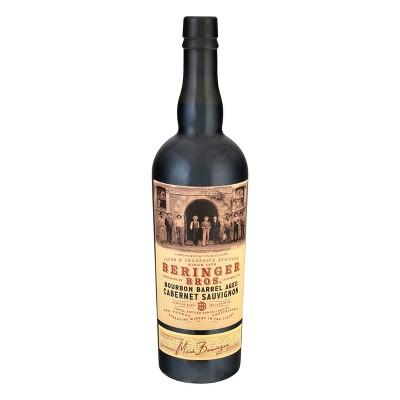Beringer Bros. Bourbon Barrel Cabernet Sauvignon Red Wine - 750ml Bottle