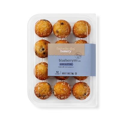 Blueberry Mini Muffins - 11.9oz/12ct - Favorite Day™