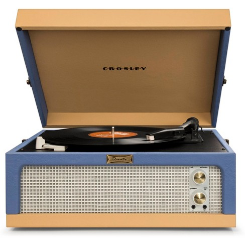 Crosley Dansette Junior Portable Record Player - Blue / Tan - image 1 of 2