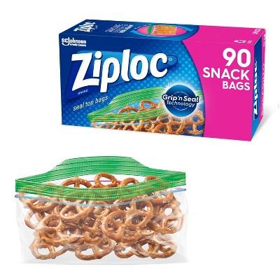 Ziploc Storage Snack Bags
