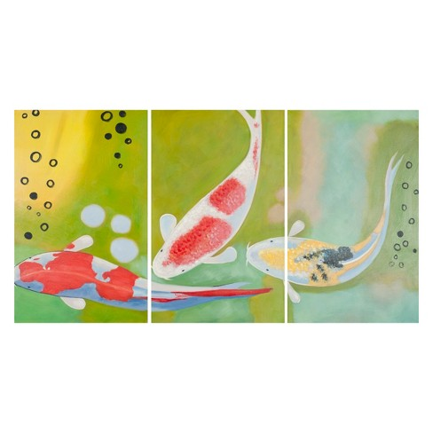 Beneath The Sea Triptych Wall Art - Safavieh® - image 1 of 2