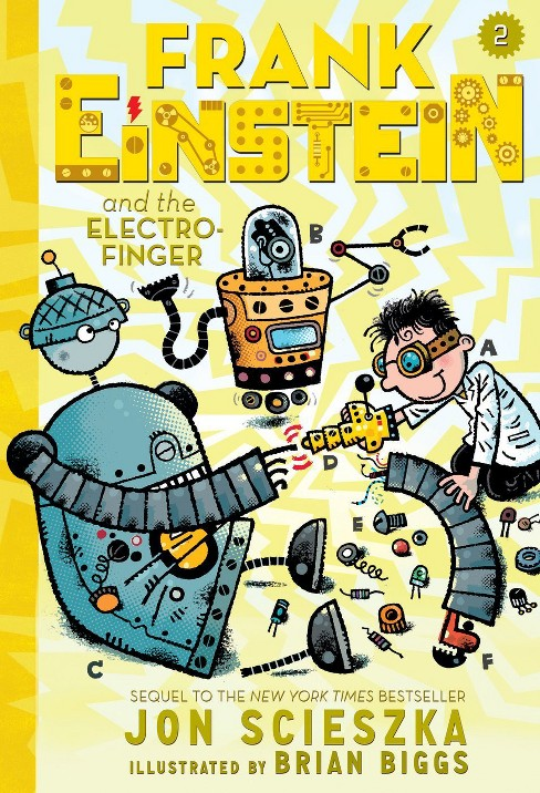 Frank Einstein and the Electro-Finger (Hardcover) by Jon Scieszka - image 1 of 1