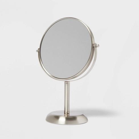 Bathroom Mirror Brushed Nickel Threshold Target