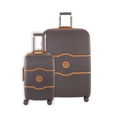 DELSEY Paris Chatelet Hard Luggage Set - Chocolate
