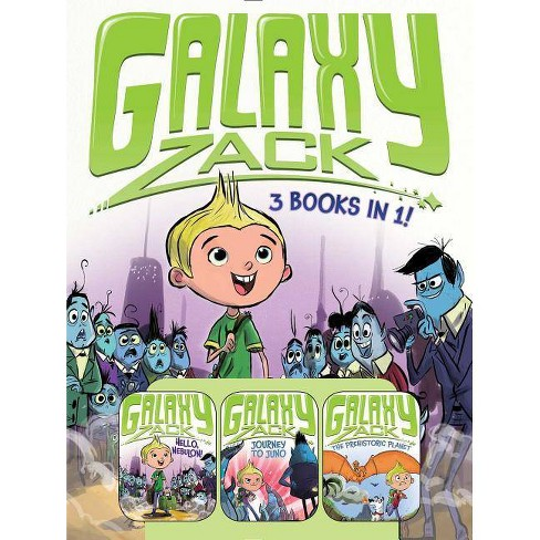 Galaxy Zack 3 Books in 1! - by  Ray O'Ryan (Paperback) - image 1 of 1