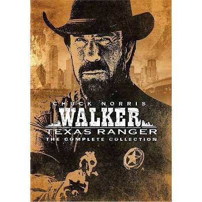 Walker, Texas Ranger: The Complete Series (DVD)(2020)