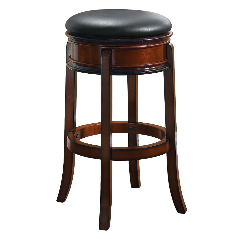 24 Magellan Hardwood Counter Height Barstool Brandy - Boraam Discounts