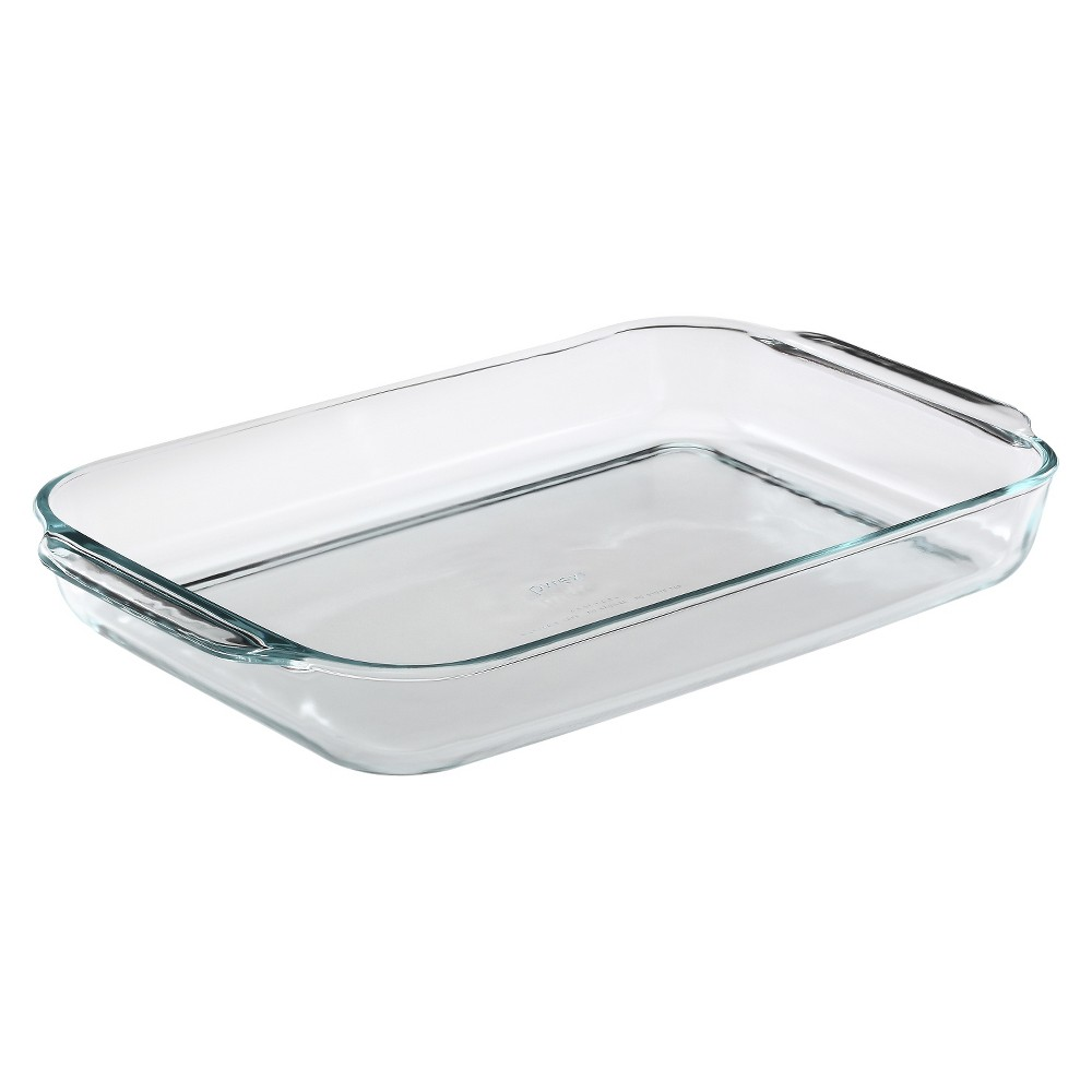"""Image of """"Pyrex 15""""""""x10"""""""" Glass Baking Dish, Clear"""""""