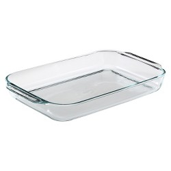 "Pyrex 15""x10"" Glass Baking Dish"