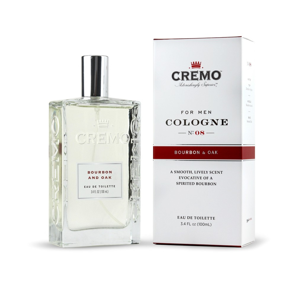 Image of Cremo Bourbon & Oak Men's Spray Cologne - 3.4 fl oz