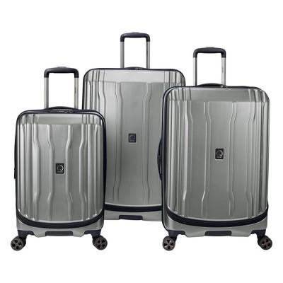 DELSEY Paris Cruise Lite 3pc Hardside 2.0 Hardside Luggage Set - Platinum