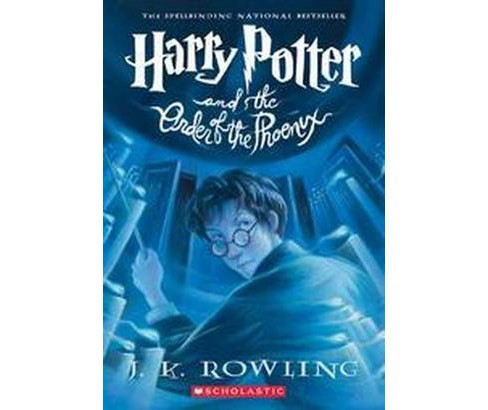 Harry Potter and the Order of the Phoenix (#5) (Paperback) by J. K. Rowling - image 1 of 1