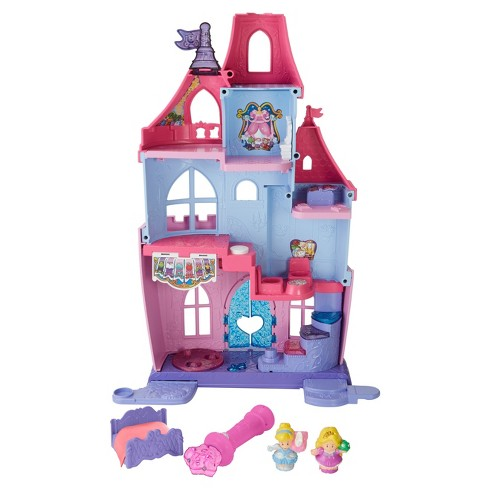 fisher price little people disney princess magical wand palace target