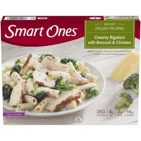 Smart Ones Frozen Creamy Rigatoni with Broccoli & Chicken - 9oz - image 1 of 4