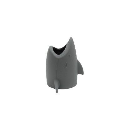 Kids' Toothbrush Holder Shark Gray - Pillowfort™