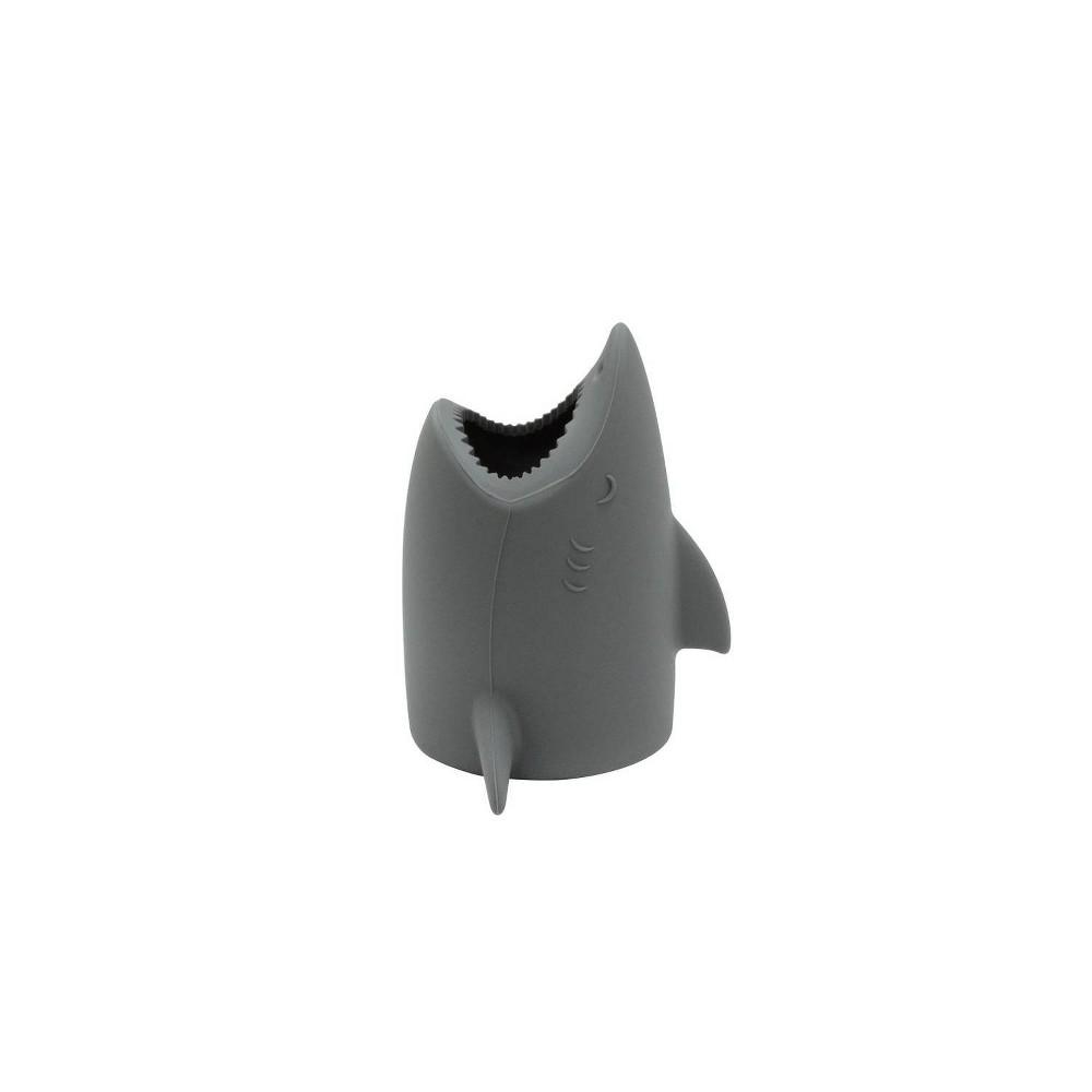 Kids Toothbrush Holder Shark Gray - Pillowfort Discounts